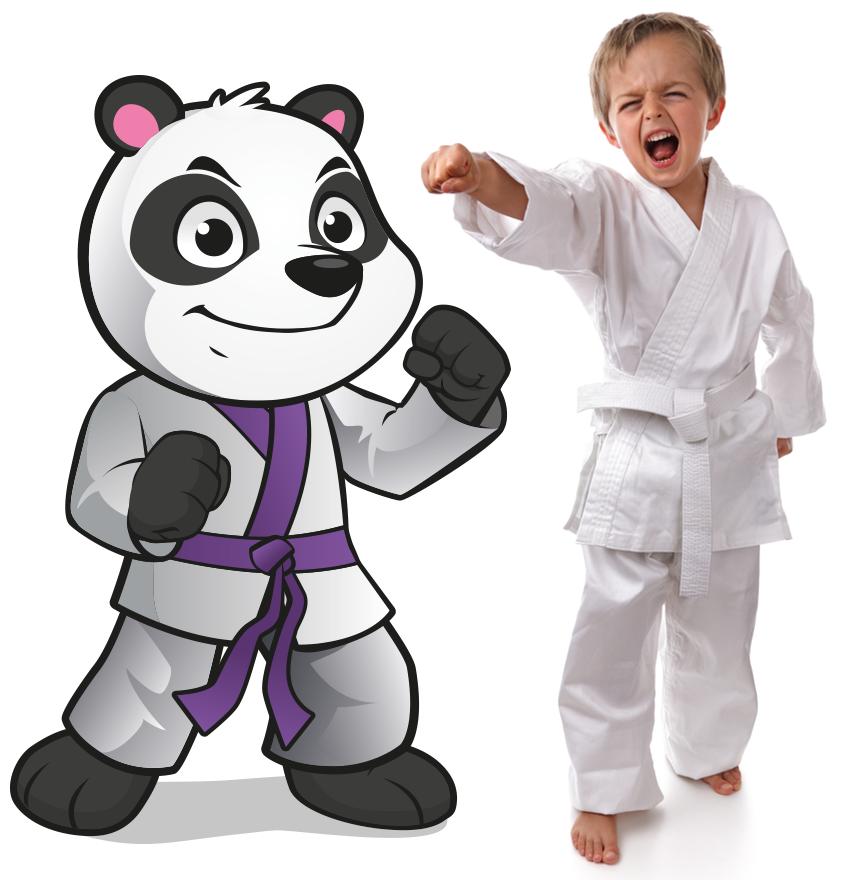 PANDA-KIDS Kampfkunst für Kinder von 4-6 Jahren